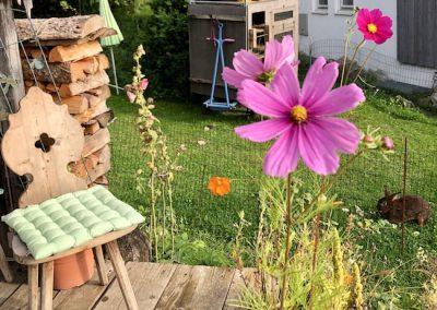Grillhütte im Garten