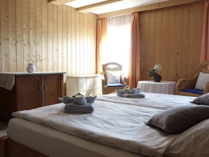 FeWo Bergblick: Elternschlafzimmer