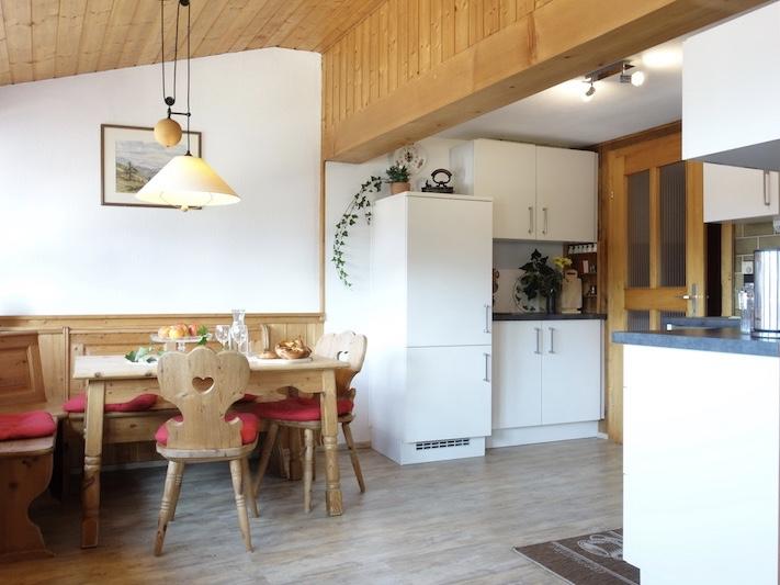 FeWo Bergblick: Wohnküche