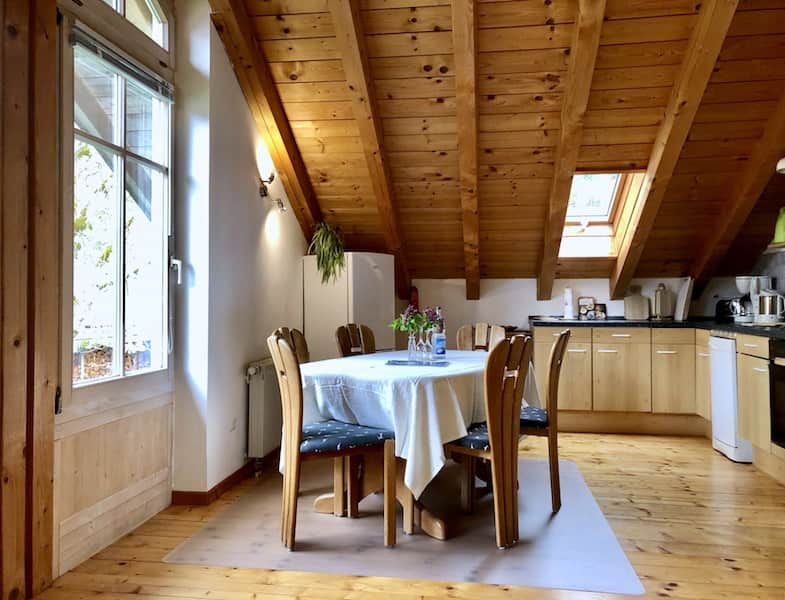 FeWo Wiesenblick: Wohnküche
